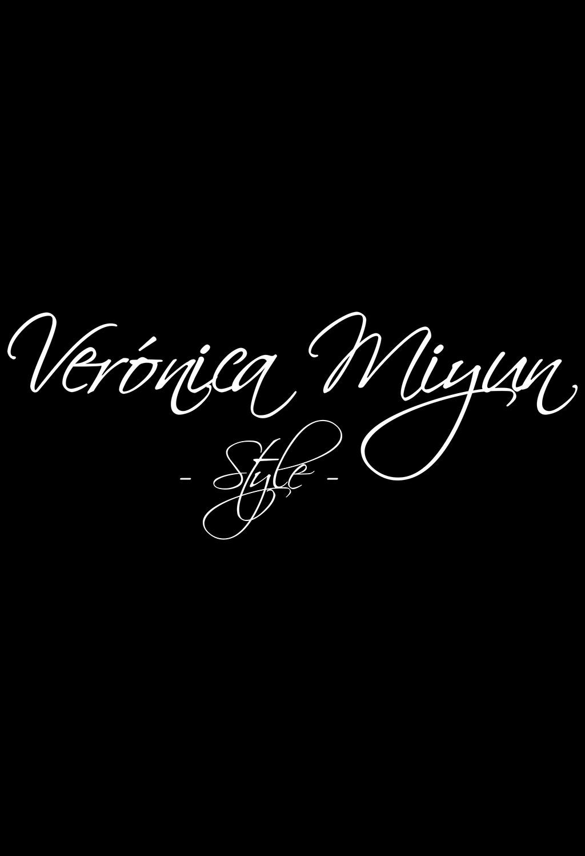 Verónica Miyun - Logo Web Style