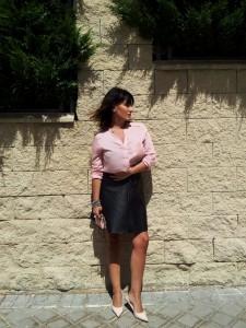 Look Veronica Miyun, estilismo