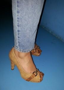 look con zapato maripaz