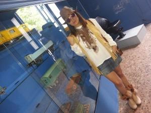 Veronica Miyun en el mercado de motores